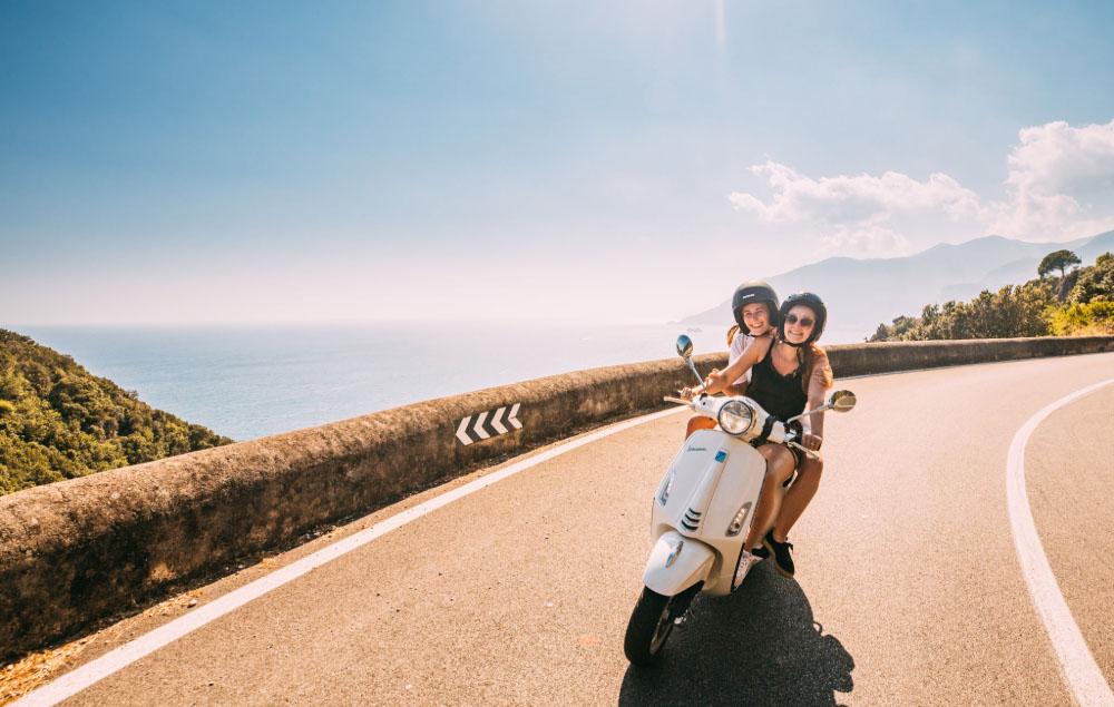Picture of the Vespa Trip in Amalfi